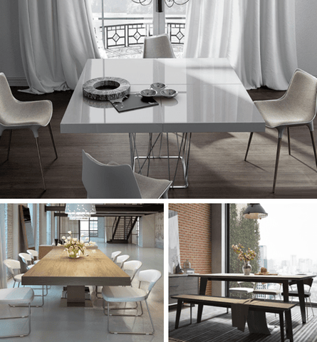 TOP MODERN DINING TABLES TRENDS