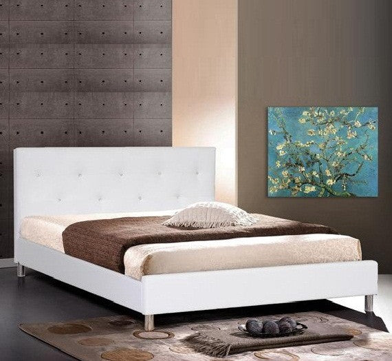 BARBARA BED - White