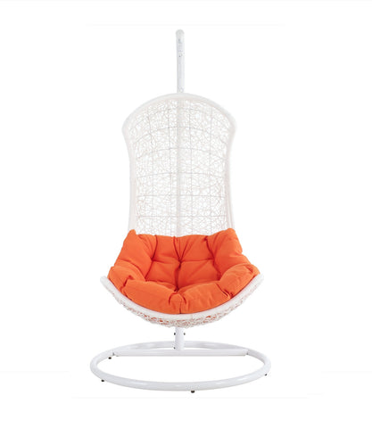 THE ENDOW RATTAN OUTDOOR PATIO SWING CHAIR