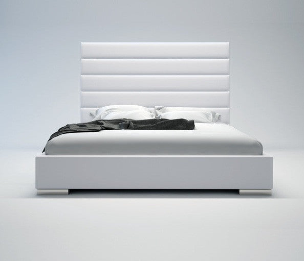 LINCOLN BED - White