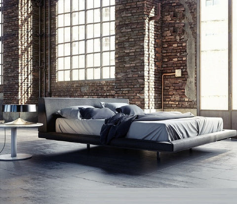 MARTIN BED - Slate Fabric