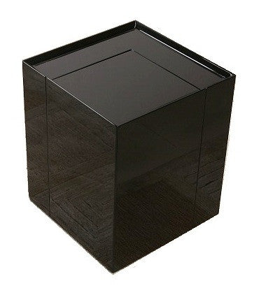 MODERN END TABLE/MINI BAR - Black