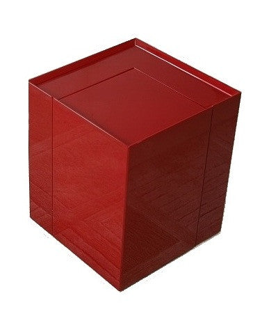 MODERN END TABLE/ MINI BAR - Red