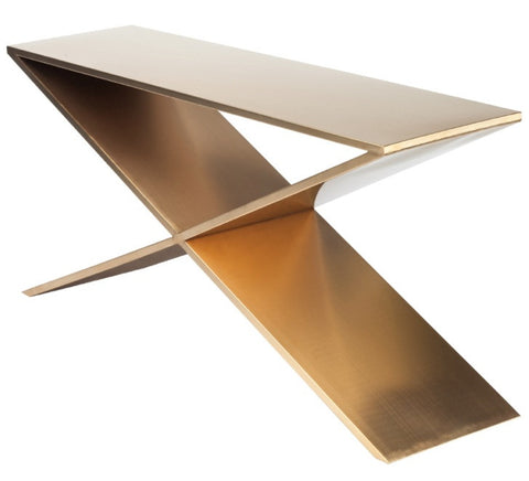 PRAGUE SIDE TABLE - Gold