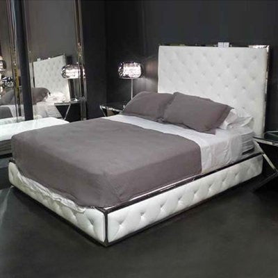 BOXER BED - White
