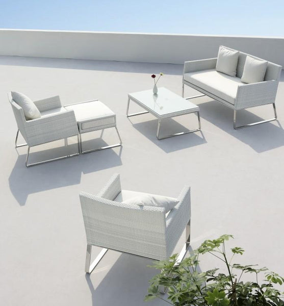 AEGEAN PATIO LOUNGE SET 5 PIECE