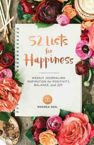 """52 Lists Of Happiness"" Book"