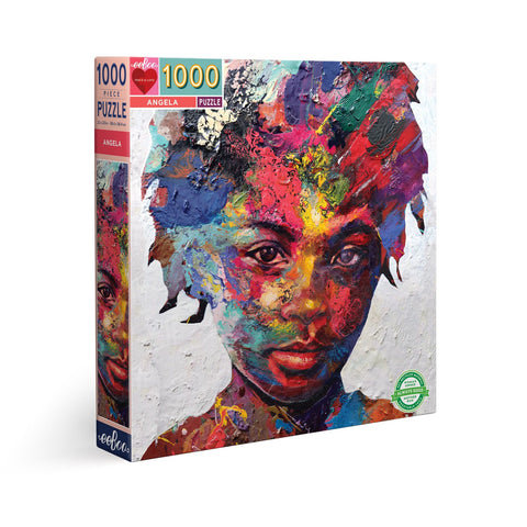 """Angela"" 1000pc Round Puzzle"