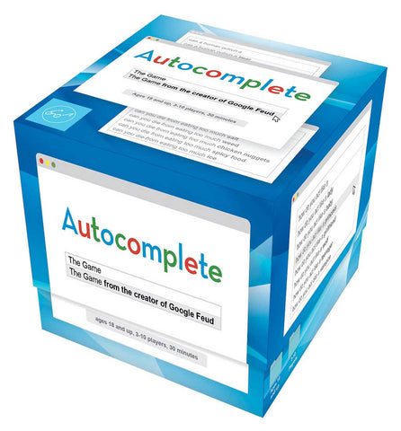 """Autocomplete"" Game"