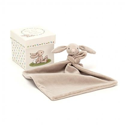 Jellycat Baby Bunny Soother/Plush in Gift Box