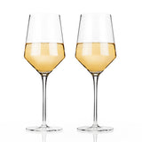 Raye: Crystal Chardonnay Glass Set By Viski