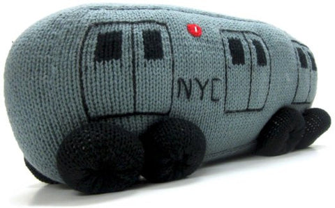 NYC Subway Pillow