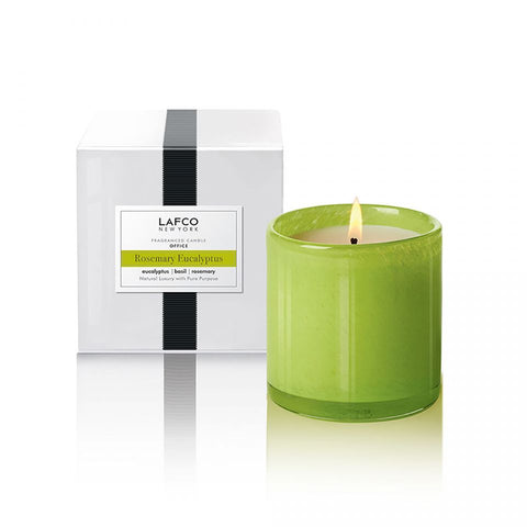 """Rosemary Eucalyptus"" Lafco 6.5 Oz. House & Home Candle"