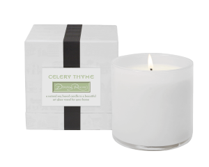 CELERY THYME / Dining Room Lafco House & Home candle
