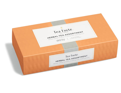 "Tea Forte ""Herbal"" Petite 10 Tea Assortment Box"