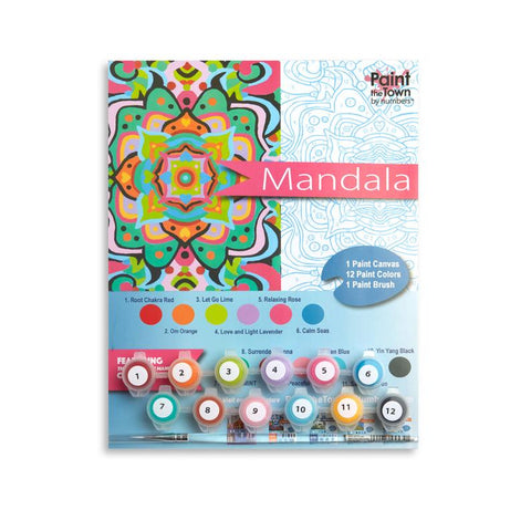 Mandala Paint by Numbers