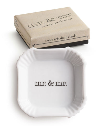Sweet Nothings Dish Mr & Mr