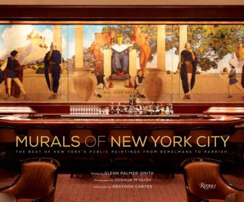 """Murals Of New York"" Coffee Table Book"