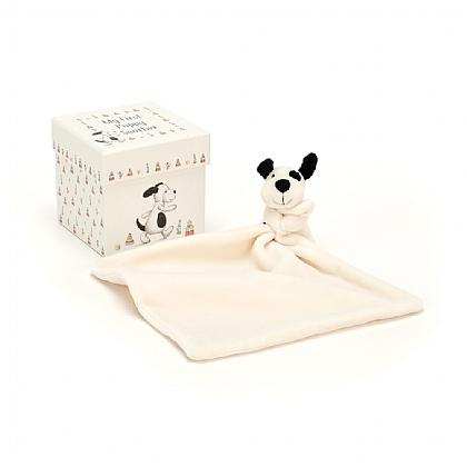 Jellycat Baby Puppy Soother/Plush in Gift Box