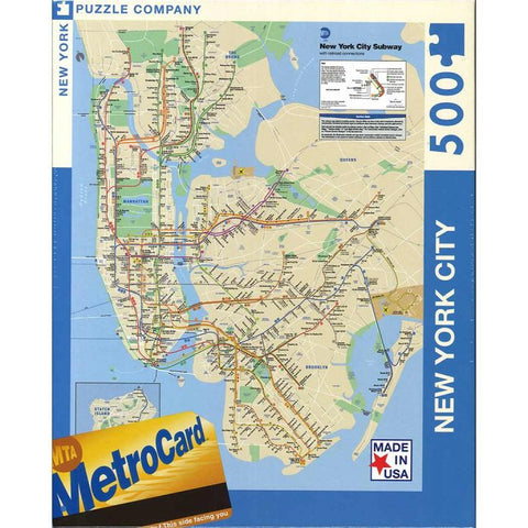 Subway Map Puzzle