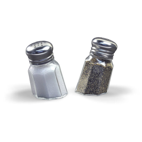Sunk-In Salt & Pepper Shakers
