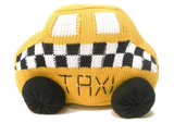Taxi Cab Pillow