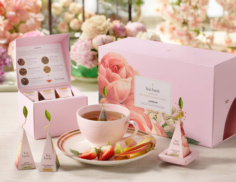 "Tea Forte ""Jardin"" Botanical Gift Set"