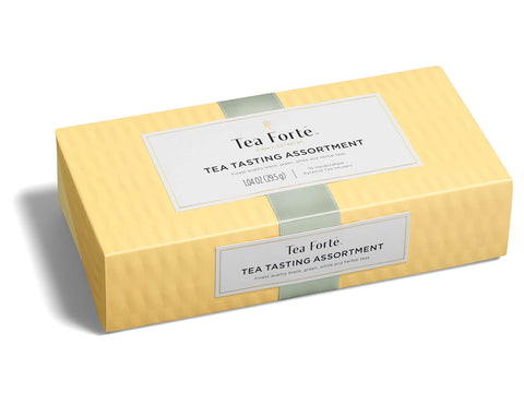 "Tea Forte ""Tea Tasting"" Petite 10 Tea Assortment Box"