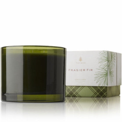 Thymes Frasier Fir Candle - 3 Wick