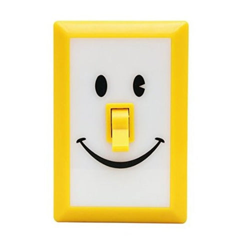 Smile Switch LED Night Light Yellow