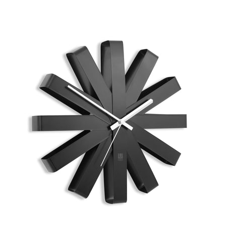 Ribbon Wall Clock by Umbra