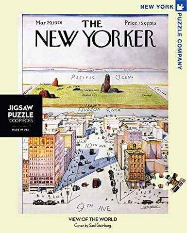 """View of the World from 9th Ave""  - New Yorker Puzzle"