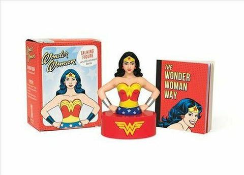 Wonder Woman Talking Figure and Book Set