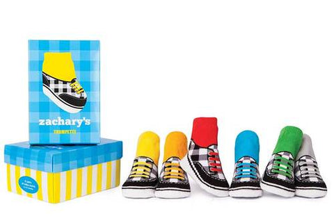 "Trumpette ""Zachary's Sneakers"" Socks (6 pair)"