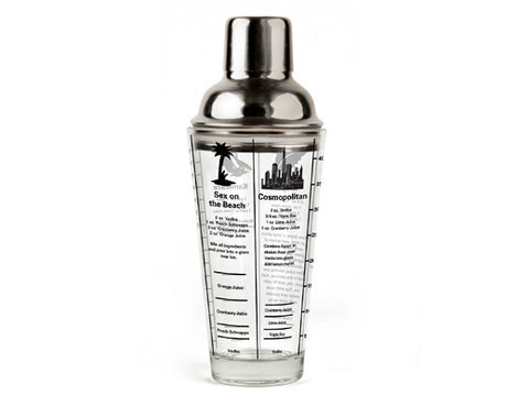 Mix Master Cocktail Shaker 16oz