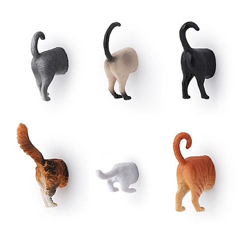 Cat Butt Magnet Set