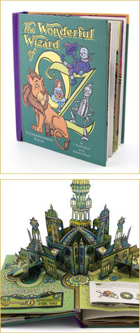 Wizard Of Oz Pop Up Book