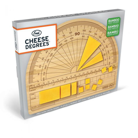 """Cheese Degrees"" Cutting Board"