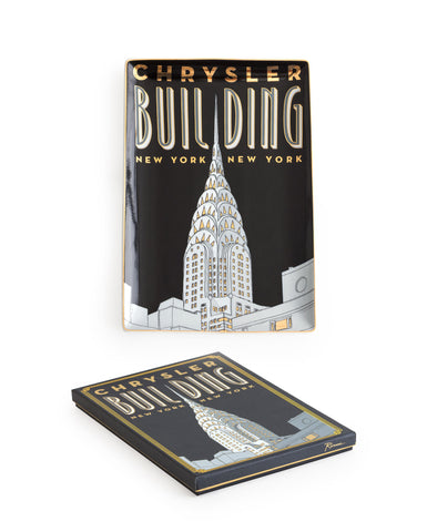 Jazz Age Tray Chrysler Building