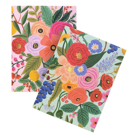"Rifle Paper ""Garden Party"" Pocket Notebooks Set/2"