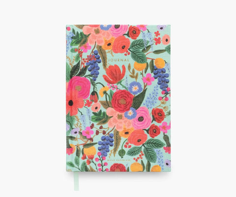 "Rifle Paper ""Garden Party"" Fabric Hardcover Journal"