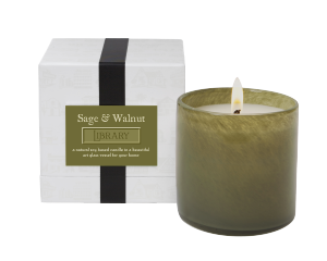 SAGE & WALNUT / Library Lafco House & Home candle