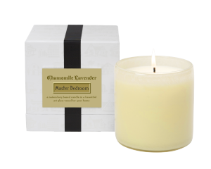 CHAMOMILE LAVENDER / Master Bedroom Lafco House & Home candle