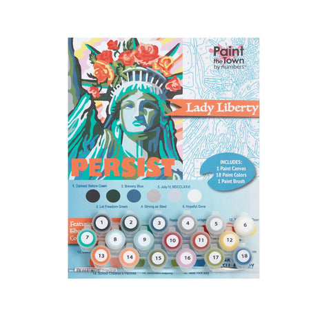 Lady Liberty Paint by Numbers