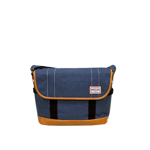 Harvest Label Connect Palette Commuter Messenger Bag (Navy)