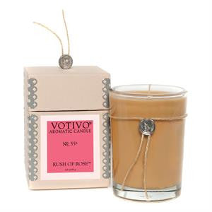 Rush of Rose Candle Votivo