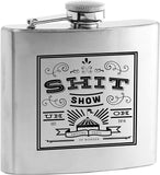 Shit Show Stainless Steel Flask by True