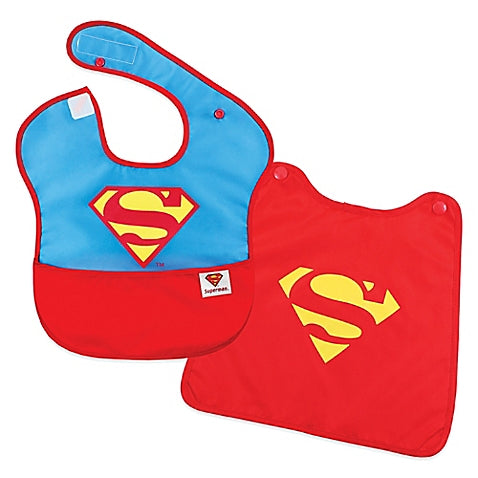 Bumkins® DC Comics™ Superman 2-Piece SuperBib Set with Cape