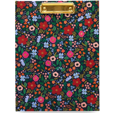 "Rifle Paper ""Wild Rose"" Clipfolio"