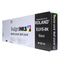 Roland LED UVS 220ml - Black EUVS-BK